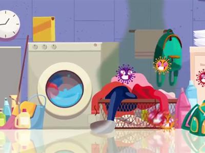 امکان اضافه کردن لباس در حالت روشن ماشین لباسشویی اتومات بنس